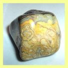 Over 80cts Yellow AGATE Tumbled and Polished Loose Stone