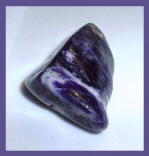 Over 60cts Dark Purple CHAROITE Tumbled and Polished Natural Loose Gemstone