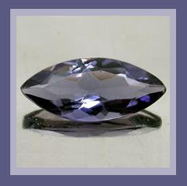 0.52ct IOLITE Marquise Cut 7x3mm Faceted Natural Loose Gemstone