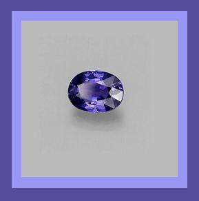 0.45ct Natural Blue SAPPHIRE Oval Cut 5x3mm Faceted Loose Gemstone