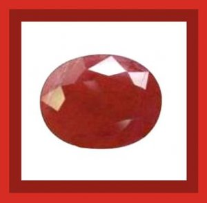 1.80ct Dark Red RUBY Oval Cut 7x5mm Faceted Natural Loose Gemstone