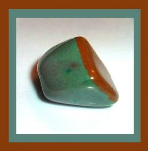 30.35ct CHRYSOCOLLA Tumbled and Polished Natural Loose Gemstone