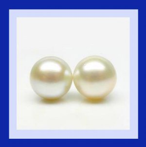 3.16ctw Pair of 2 White PEARL 6mm Round Natural Loose Gemstones