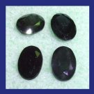 2.35ctw Lot of 4 Natural Blue SAPPHIRE Oval Cut Faceted Loose Gemstones