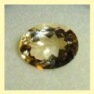 1.75ct GOLDEN YELLOW BERYL Oval Cut 9x6mm Faceted Natural Loose Gemstone