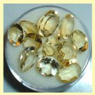 12.15ctw Lot of 13 GOLDEN YELLOW BERYL Round Oval Pear Marquise Cut Loose Gemstones