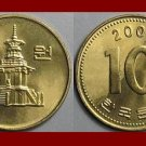 SOUTH KOREA 2003 10 WON BRASS COIN KM#33.2 Asia ~ AU ~ BEAUTIFUL!