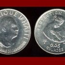 FAO ISSUE ~ HAITI 1981 5 CENTIMES COIN KM#145 Jean-Claude Duvalier ~ LOW MINTAGE! ~ AU ~ BEAUTIFUL!