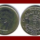 BELGIUM 1969 10 FRANCS COIN 27mm KM#155.1 Europe - BELGIQUE French Legend ~ BEAUTIFUL!