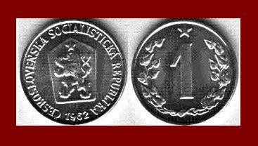CZECHOSLOVAKIA 1962 1 HALER COIN KM#51 Europe - XF - BEAUTIFUL!