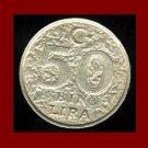 TURKEY 1999 50 BIN LIRA COIN KM#1056 EURASIA - Mustafa Kemal Ataturk