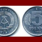EAST GERMANY 1983(A) 5 PFENNIG KM#9.2 Europe - East Berlin City Seal - Communist Germany
