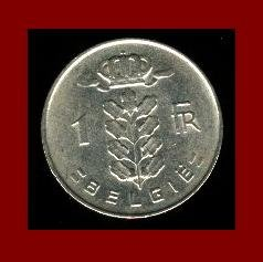 BELGIUM 1967 1 FRANK COIN KM#143.1 Europe - BELGIE Dutch Legend