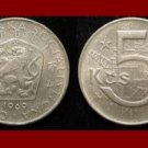 CZECHOSLOVAKIA 1969 5 KORUN KCS COIN KM#60 Europe Wrecking Crane & Ball