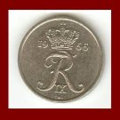 DENMARK 1965 10 ORE COIN KM#849.1 King Frederik IX - Crowned R