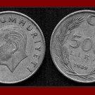 TURKEY 1989 500 LIRA COIN KM#989 Mustafa Kemal Ataturk