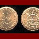 MOZAMBIQUE 1974 20 CENTAVOS BRONZE COIN KM#88 Portuguese Republic Africa ~ SCARCE! ~ BEAUTIFUL!