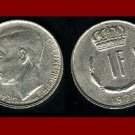 LUXEMBOURG 1970 1 FRANC COIN KM#55 Europe - Grand Duke Crown