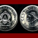 HONDURAS 1995 50 CENTAVOS COIN KM#84a.2 - Chief Lempira Central American Indian ~ BEAUTIFUL!