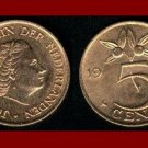 NETHERLANDS 1976 5 CENTS BRONZE COIN KM#181 - Cranberries - Queen Juliana