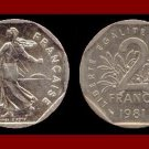 FRANCE 1981 2 FRANCS COIN KM#942.1 Europe ~ BU - BEAUTIFUL!