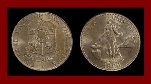 PHILIPPINES 1966 10 CENTAVOS COIN KM#188 Martial Law Coin - President Ferdinand Marcos