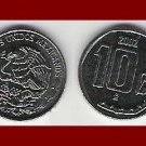 MEXICO 2002 10 CENTAVOS STEEL COIN KM#547 Central America ~ BEAUTIFUL!
