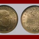 SPAIN 1953(56) 10 CENTIMOS COIN KM#775 Francisco Franco