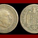 SPAIN 1947(49) 1 PESETA COIN KM#775 Y113 Europe - Regent Francisco Franco ~ SCARCE!