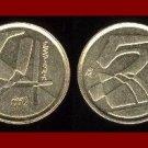 SPAIN 1992 5 PESETAS PTAS COIN KM#833 Y166