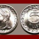 HUNGARY 1970 5 FILLER COIN KM#549 Europe ~ BEAUTIFUL!