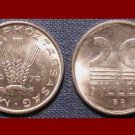 HUNGARY 1979 20 FILLER COIN KM#573 ~ 3 Wheat Stalks