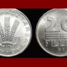 HUNGARY 1975 20 FILLER COIN KM#573 ~ 3 Wheat Stalks
