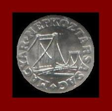 HUNGARY 1973 50 FILLER COIN KM#574 ~ Bridge