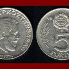 HUNGARY 1984 5 FORINT COIN KM635 Europe - Lajos Kossuth