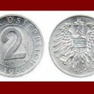 AUSTRIA 1966 2 GROSCHEN COIN KM#2876 - Europe