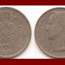 BELGIUM 1949 5 FRANCS COIN KM#134.1 Europe - BELGIQUE French Legend