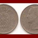 BELGIUM 1949 5 FRANCS COIN KM#134.1 Europe - BELGIQUE French Legend