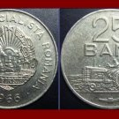 ROMANIA - TRANSYLVANIA 1966 25 BANI COIN KM#94 Europe - Romanian & Tractor - XF BEAUTIFUL!