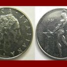 ITALY 1981 50 LIRE COIN KM#95 Europe - Statue of Nude Man - XF BEAUTIFUL!