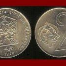 CZECHOSLOVAKIA 1975 2 KORUNY KCS COIN KM#75 Europe