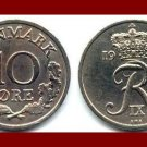 DENMARK 1972 10 ORE COIN KM#849.2 Europe - King Frederik IX