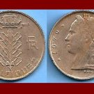 BELGIUM 1970 1 FRANC BELGIQUE COIN KM#142.1 Europe - French Legend