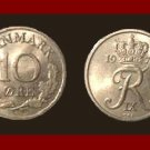 DENMARK 1970 10 ORE COIN KM#849.1 Europe - King Frederik IX