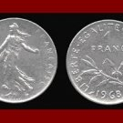 FRANCE 1968 1 FRANC COIN KM#925.1 Europe - XF BEAUTIFUL!