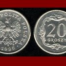 POLAND 1996 20 GROSZY COIN Y#280 Europe - XF - BEAUTIFUL!