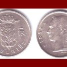 BELGIUM 1958 1 FRANC BELGIE COIN KM#143.1 Europe - Dutch Legend