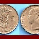 BELGIUM 1976 1 FRANC BELGIE COIN KM#143.1 Europe - Dutch Legend