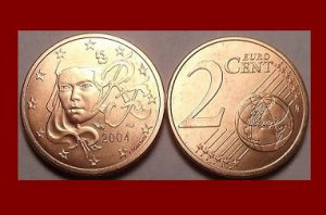 FRANCE 2004 2 EURO CENTS COIN KM#1283 Europe