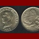PHILIPPINES 1993 50 SENTIMOS BRASS COIN KM#242.3 Southeast ASIA - Monkey-Eating Eagle
